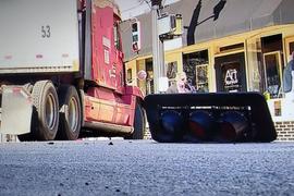 Truck vs. Traffic Light Makes the News