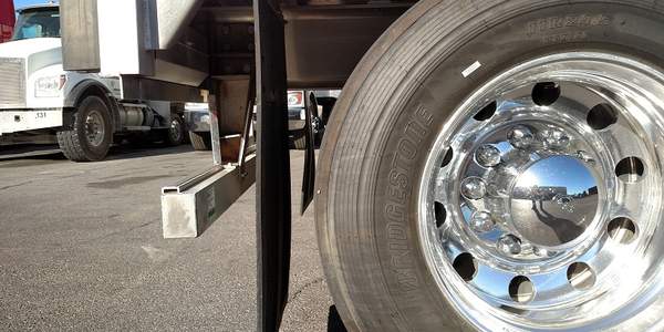 Livestock trailer's simple bumper meets the 1952 portion of the regulation. It would keep...