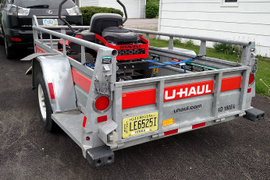 Well Thought-Out Details on U-Haul's Trailers