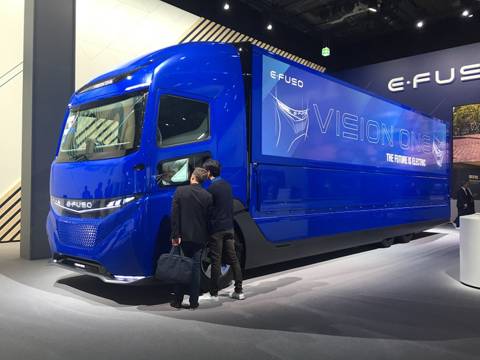 The IAA Commercial Vehicles show in Germany was a showcase for future trucking technologies, some of which are not so far off. 