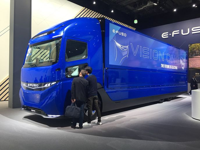 The IAA Commercial Vehicles show in Germany was a showcase for future trucking technologies, some of which are not so far off.  - Photo: Deborah Lockridge