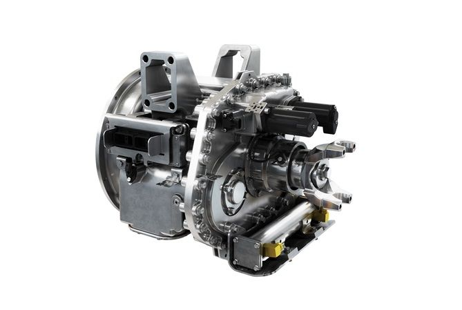 Eaton said its engineers designed its new heavy-duty 4-speed EV transmission to solve the primary issue related to single-speed drives: contradictory requirements for high efficiency at top speeds and increased torque at launch and low speeds.