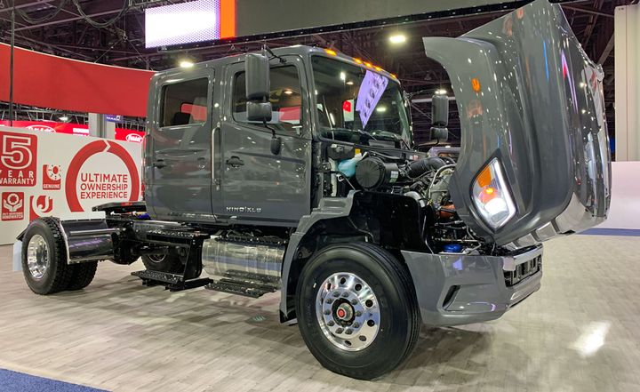 The heavy-duty Hino XL8 gets new extended cab and crew cab options.