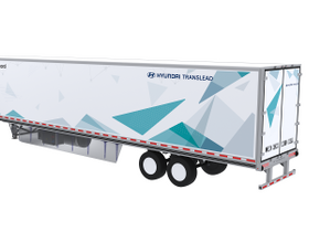 Hyundai TransLead Shows Nitrogen-Powered Reefer Concept