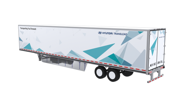 The Nitro ThermoTech concept trailer shown by Hyundai Translead at the 2019 NACV Show features a...