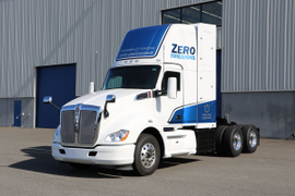 Kenworth Highlights Fuel-Cell Electric Truck at NACV Show