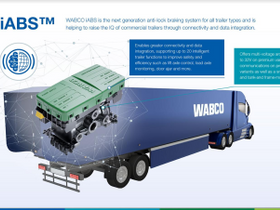Wabco Offers Intelligent ABS for Trailers