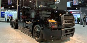 Mack Trucks Highlights Anthem Fuel Economy, Limited Edition