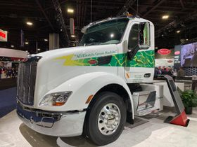 Peterbilt Looks to 2020: Electric Trucks, Vocational Sales, Uptime Initiatives