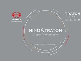 Hino and Traton Establish Global Procurement Partnership
