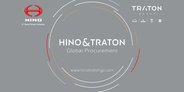 Commercial vehicle manufacturers Traton Group and Hino Motors have established a procurement...