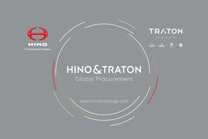 Commercial vehicle manufacturers Traton Group and Hino Motors have established a procurement joint venture to maximize the global procurement synergies between the two companies. - Image courtesy Traton