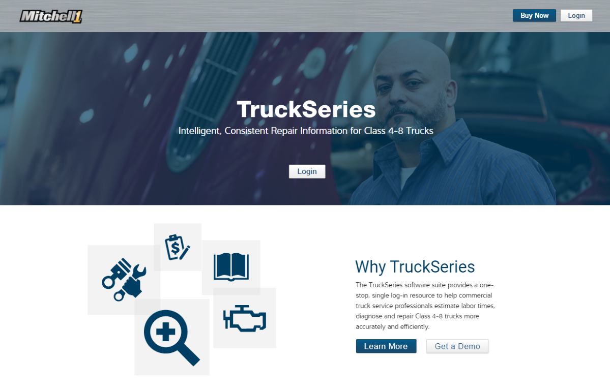 Mitchell 1 Updates TruckSeries Vehicle-Service Software