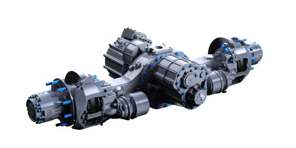 Meritor said its new 17Xe electric powertrain will deliver 420 kilowatts of continuous power and...