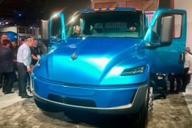 Navistar Unwraps Electric Truck