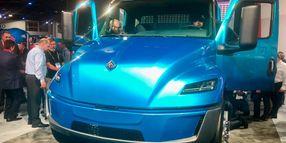 Navistar Unwraps Electric Truck