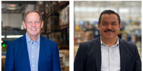 Phillips Industries has restructured its business and promoted Rob Myers (left) and Filberto...
