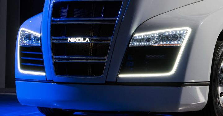 Nikola has developed a new type of battery it claims could allow ranges of up to 800 miles between charges for battery electric trucks with a 40% weight reduction and 50% lower cost.  - Photo: Nikola Motors