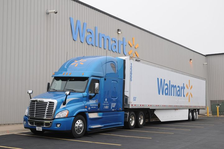 Walmart Canada launched a blockchain-based freight and payment network that tracks deliveries, verifies transactions and automates payments and reconciliation among Walmart Canada and its carrier partners. - Photo via Walmart
