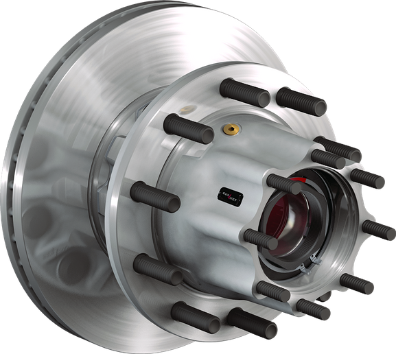 ConMet's SmartHub was developed to provide better prognostic capabilities around the health of the wheel end.  - Photo: ConMet