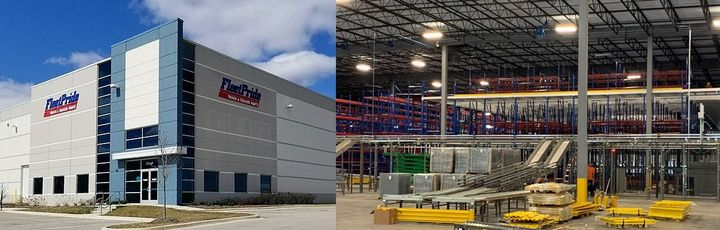 FleetPride has opened a new 150,000 -square-foot distribution center in Elgin, Illinois, replacing its existing facility in nearby Bolingbrook. - Photo: FleetPride