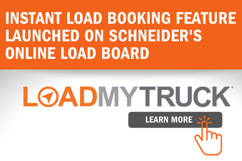 Schneider has launched an automated tool that enables third party carriers to instantly book...
