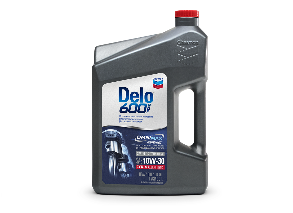 New Chevron Engine Oil Reduces DPF Ash by 60%