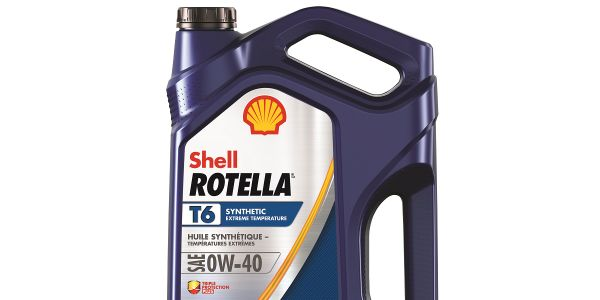 Shell Rotella T6 0W/40 is blended for fleets working in harsh winter environments.