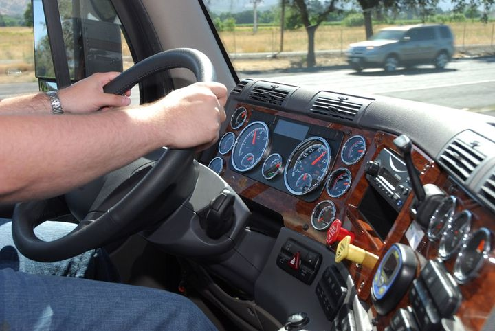 The California Trucking Association is challenging the employment test included in California's recently passed independent contractor law that the group says threatens the livelihood of independent truck drivers. - Photo: Jim Park