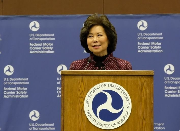 """The Department is seeking input on how to make the NETT Council work more effectively to prepare for the transportation system of the future,"" said U.S. Transportation Secretary Elaine L. Chao. - Photo: Jim Park"