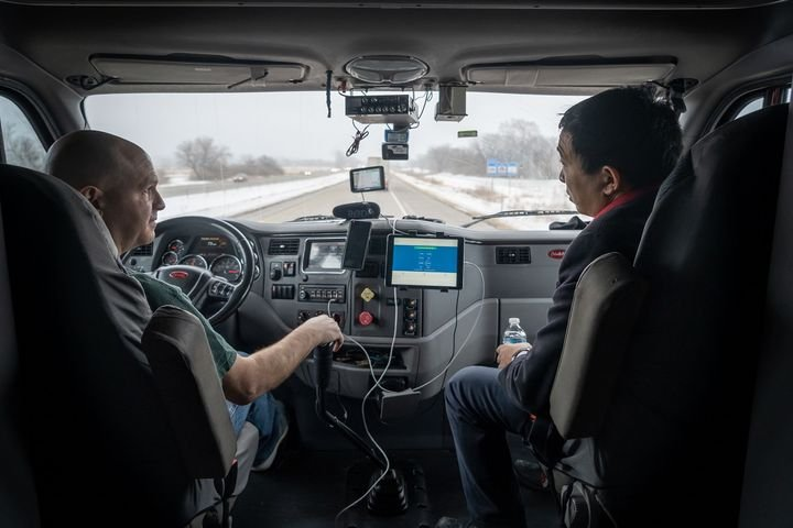 "Presidential hopeful Andrew Yang said in the Democratic primary debate in Atlanta on Nov. 20 that if elected, he would appoint a ""trucking czar"" to oversee the transition from human drivers to autonomous vehicles. - Photo via Yang2020.com"