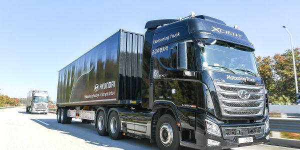 Hyundai Motor Company successfully conducted its first platooning test involving two commercial...