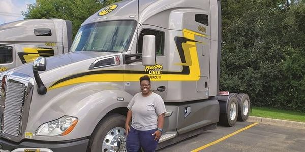 According to Women In Trucking, women comprise nearly 8% of female over-the-road drivers and...