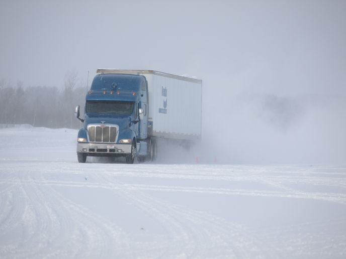 Commercial vehicle braking systems are vital to driver and highway safety year-round – but even more so in winter.  - Photo: Bendix Vehicle Systems