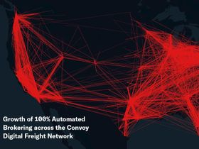 Convoy Claims Fully Automated Brokering Success in Top Freight Markets