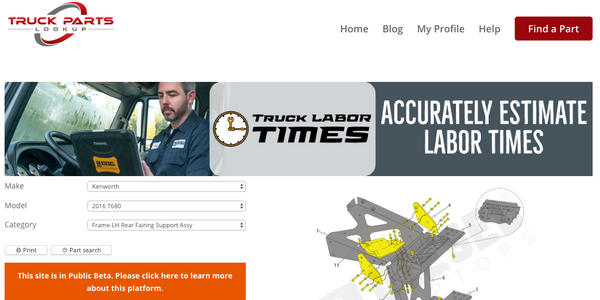 Truck Parts Lookup allows users to identify the heavy-duty parts they need easily without...