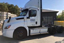 Penske eCascadia Electric Trucks Reach the 10,000 Mile Mark