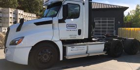 Penske eCascadia Electric Trucks Reach the 10,000 Mile Mark