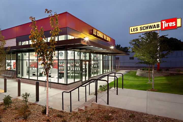 The family shareholders of Les Schwab Tire Centers, which has 492 locations in 10 states, intend to sell their company in the next few months. - Photo: Les Schwab Tire Centers