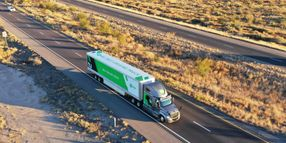 TuSimple Study Finds 10% Fuel Savings for Autonomous Trucks