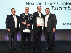 Alabama's Nextran Truck Center Nabs Mack Dealer of the Year Honor