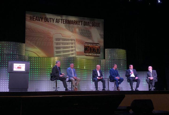 Aftermarket representatives from across North America identified training as a common need, during a panel discussion at Heavy Duty Aftermarket Dialogue. - Photo: John G. Smith