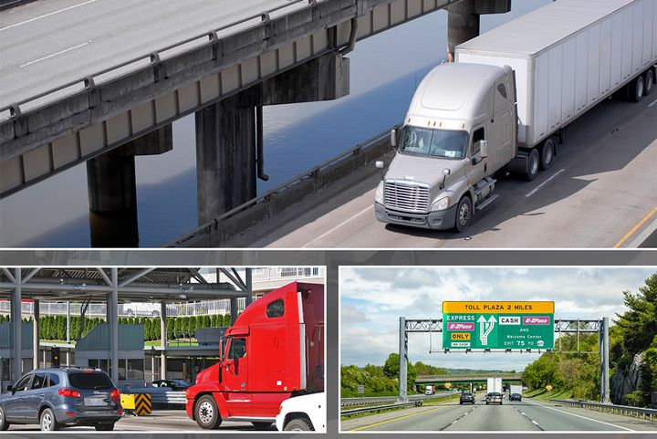 Toll costs amounts to $0.45 per mile, which exceeds every cost per mile metric from ATRI's 2018 operational cost survey with the exception of driver wages, which were $0.596 per mile. - Photo: ATRI