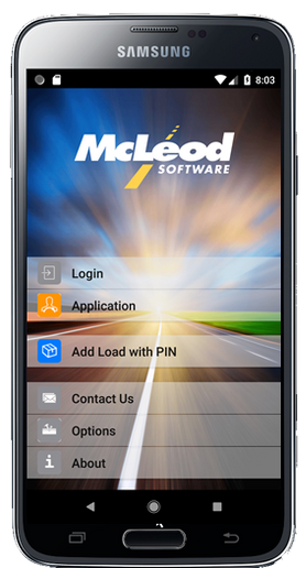 The McLeod Carrier App helps to establish better communication between a carrier driver, the carrier back office team, and the broker. - Photo: McLeod Software