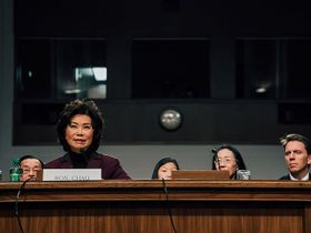 DOT Chief Chao Appeals for Trucking's Help to Combat Human Trafficking