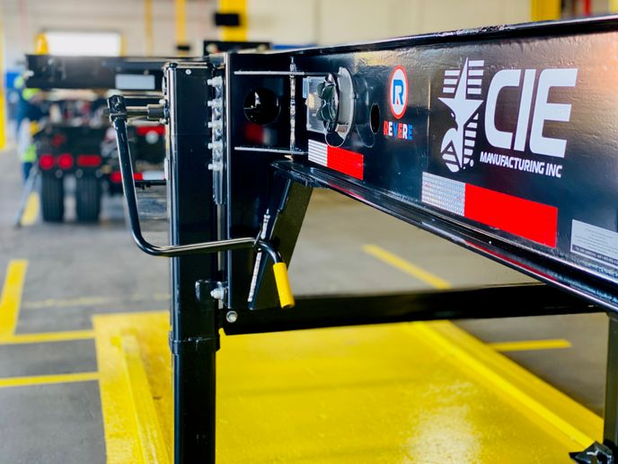 Intermodal chassis are being produced in the U.S. by a renamed CIE.