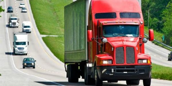 "According to freight forecasting firm FTR, trucking conditions now are ""holding in a narrow window."""