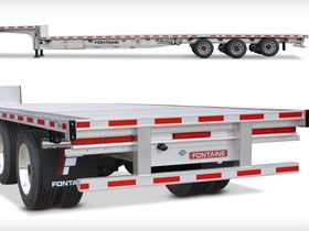 Fontaine Introduces Stability-Engineered Three-Axle Dropdeck Trailer