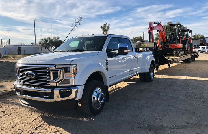 The new Ford 2020 Super Duty truck series features a bold new look and productivity enhancements designed to make the truck work tougher, smarter and safer.