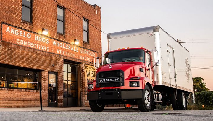 Mack said the trucks are suited for dry van/refrigerated, stake/flatbed, dump and tank truck vocations. 
